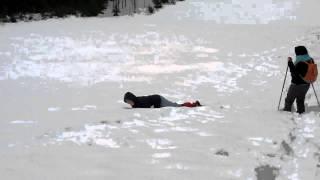 Natasa uziva u snijegu