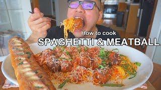 How to cook SPAGHETTI & MEATBALL