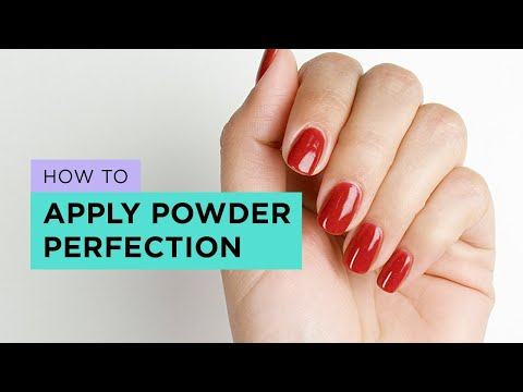 OPI Dip Powder Nail Application Tutorial