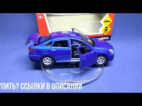 Nissan Almera - моделька в масштабе 3D обзор (Технопарк)