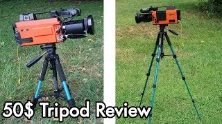 50$ Tripod Review: Zomei Q111 seems useful and durable