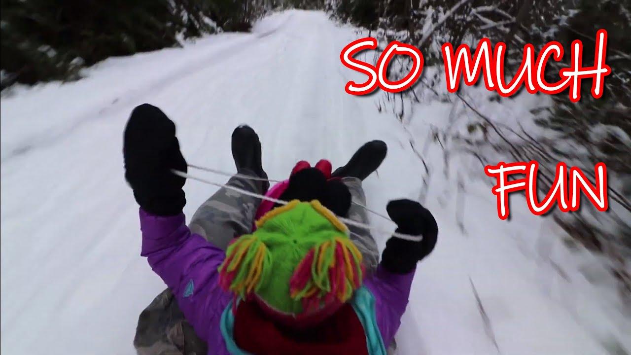 We Go Sledding and @mini.turbodb Didn't Hate It!