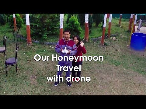 Take a Drone on Honeymoon || Drone Video Nepal
