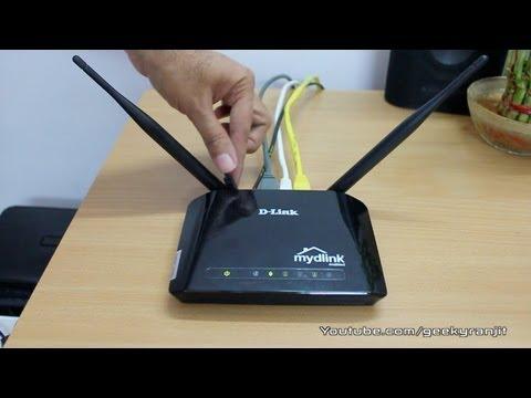 D-Link Cloud Router DIR-605L - WiFi Router Review