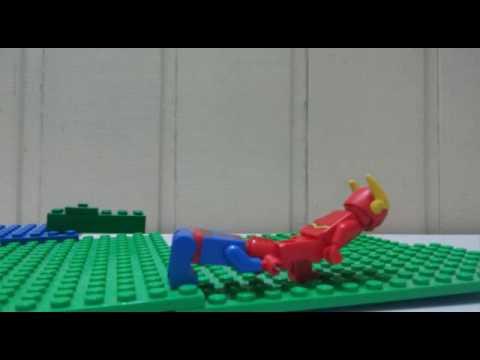 Lego Spider Man vs Flash (видео)