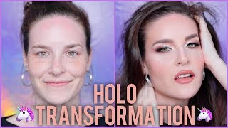 Simply Nailogical Gets A Makeover! HOLOSexual Makeup Transformation!