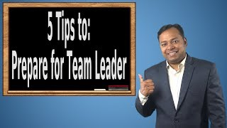 How to Prepare for Team Leader Job Profile