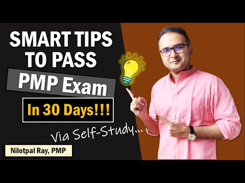 HOW TO PASS PMP EXAM in NEW FORMAT? How to study for ...