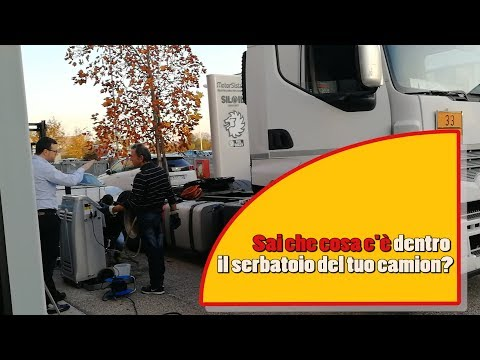 Cosa c'è dentro il serbatoio del tuo camion? Abbiamo verificato la pulizia del gasolio