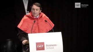 Acto de Graduación   Discurso de D. Carlos Martínez