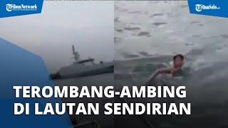 Bocah Terombang-ambing di Laut Sendirian, Personel TNI AL Kaget Dengar Pengakuan Korban