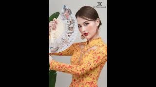 ÁO DÀI DÀNH CHO NGƯỜI MỆNH THỔ | Áo Dài Đỗ Trịnh Hoài Nam