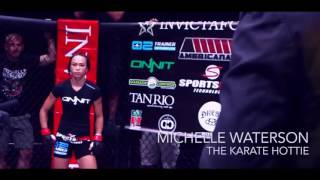 Michelle Waterson   The Karate Hottie - ...hts   H