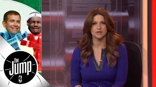 Rachel Nichols: Cavaliers on the ropes after Celtics gut punch | The Jump | ESPN - Video Youtube