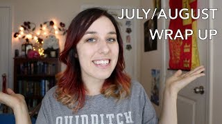 July/August Wrap Up: Harry Potter, The Magicians, and more!