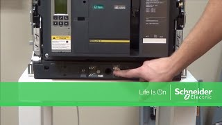 Racking In Masterpact® NT & NW Circuit Breakers | Schneider Electric Support