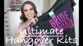 Wedding Wednesday | Bachelorette Party Gifts | Hangover Kits
