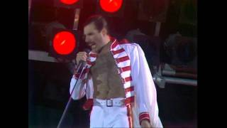 Gambar cover Queen - We Will Rock You (Live at Wembley 11.07.1986)