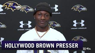 Marquise Brown Talks About His Offseason Transformation   Baltimore Ravens   Baltimore Ravens