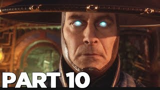 MORTAL KOMBAT 11 STORY MODE Walkthrough Gameplay Part 10 - RAIDEN (MK11)