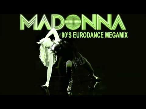 Madonna -  Megamix  ( Late 90's Eurodance Remix )