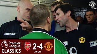 PL Classics | Arsenal 2-4 Manchester United (2005) | Giggs, Ronaldo & O'Shea Silence Highbury