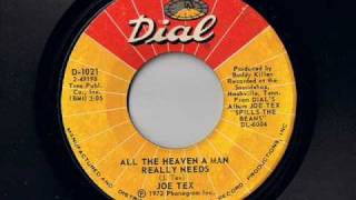 Joe Tex - All The Heaven A Man Needs - Modern Soul Classics