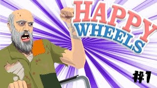 preview picture of video 'TRAVEL BACK IN TIME WITH BANANAS! - Happy Wheels #1'
