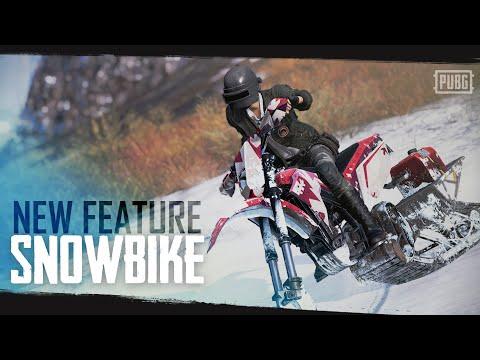pubg 雪地圖 專屬載具:雪地摩托車