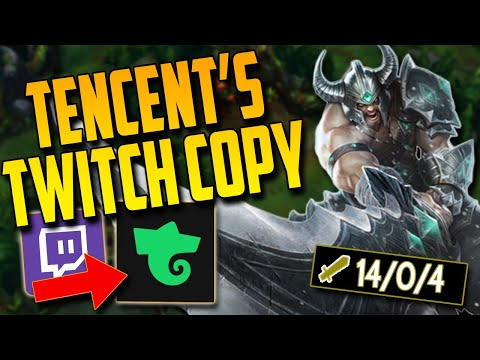 TENCENT made a twitch copy? & A perfect execution of Tryndamere Mid