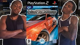 WATCH OUT!! DON'T CRASH! - Need For Speed Underground (PS2)   #ThrowbackThursday ft. Juice