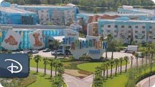10 Things You May Not Know | Disneys Art Of Animation Resort