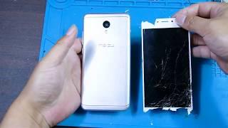 淘来一台破旧【魅蓝手机】,看我拆解修复它,是否还可以再战两年呢?