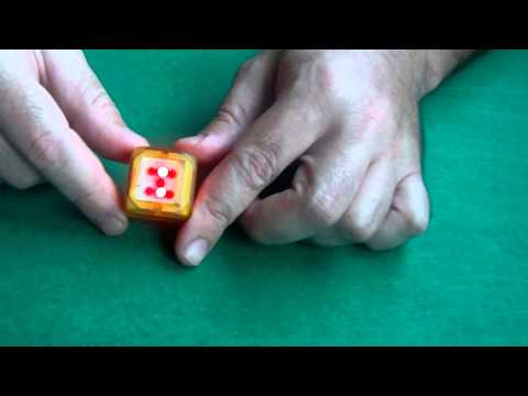 Dado electrónico como juguete o para juegos de mesa