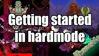 Terraria - Guide: Getting started with hard mode
