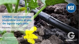 Webinar: SPRING: un programa sostenible para el uso de aguas agrícolas