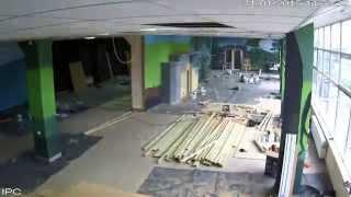 preview picture of video 'Lost World Minigolf Zgorzelec Pierwszy Etap Prac'