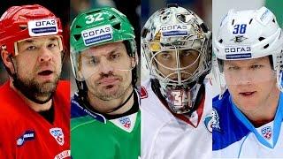 Лучшие канадские игроки КХЛ за 7 сезонов / Top 10 Canadian players for KHL