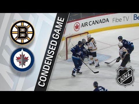 Boston Bruins vs Winnipeg Jets – Mar. 27, 2018 | Game Highlights | NHL 2017/18. Обзор