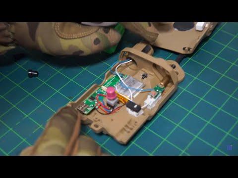 빈깡통AN/PEQ 15 배터리 케이스 작동형으로 개조