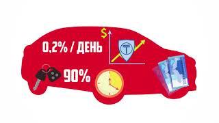 Анимационный рекламный ролик для автоломбарда «ГепардКредит»