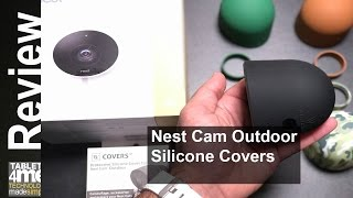 Nest Cam Outdoor Security Camera Silicone Covers from Wasserstein