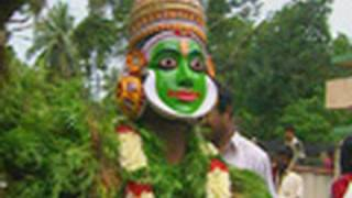 Kummattikali during Onam
