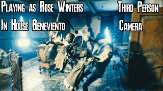 Playing as Rose Winters in Resident Evil 8 - House of Beneviento