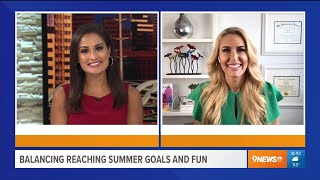 How to Enjoy Summer While Sticking to Your Goals – Heather Hans 9NEWS Denver