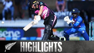 Devine, Mandhana Show Class | HIGHLIGHTS | WHITE FERNS v India | 3rd T20, 2019