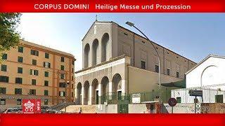 Papst Franziskus - Heilige Messe und Prozession 2019-06-23