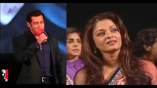 Salman Khan Sings 'Tere Naam' For Aishwarya Rai