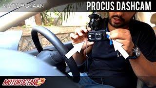 Best Cam Dashcam In India Hunt - Ep 1- Procus | Hindi | MotorOctane