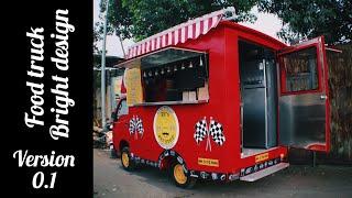 Food Truck Bright Design Version 01 #foodtruck #foodbusinees